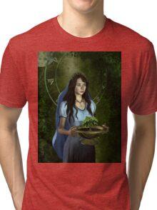 Virgo zodiac fantasy circle Tri-blend T-Shirt