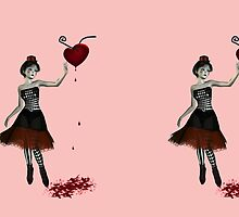Bleeding heart doll by Britta Glodde