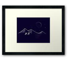 Desert Travels Framed Print