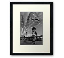 Bring me home tonight Framed Print