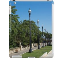 The Marching Lights - a Barcelona Perspective iPad Case/Skin