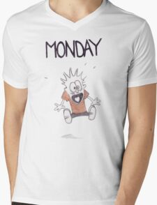 Monday Mens V-Neck T-Shirt