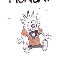 Monday by sloganart