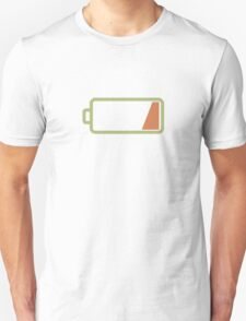 Silicon Valley - Low Battery T-Shirt