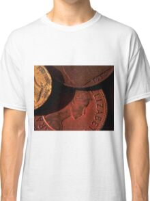 Old Coins Close Up Classic T-Shirt