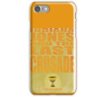 Indiana Jones and The Last Crusade iPhone Case/Skin