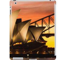 Sydney Icons Sunset iPad Case/Skin