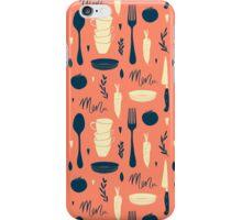 Menu pattern iPhone Case/Skin
