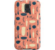 Menu pattern Samsung Galaxy Case/Skin