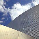Modern building in Manchester by Debu55y