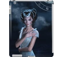 Cancer zodiac fantasy circle iPad Case/Skin
