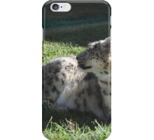 Snow Leopard Part 2 iPhone Case/Skin