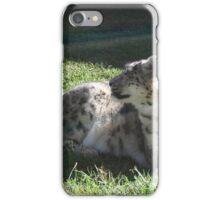 Snow Leopard Part 2 iPhone Case/Skin