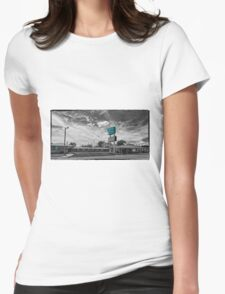 Route 66 Blarney Inn Womens Fitted T-Shirt