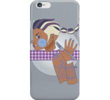 Tamora Silver iPhone Case/Skin