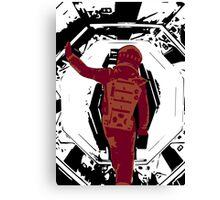 2001 - A Space Odyssey art work Canvas Print