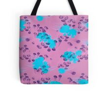 Psychedelic Jellyfish Purple (Medusa V.2) Tote Bag