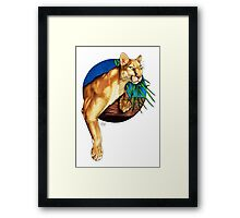 Just Hanging Around Framed Print
