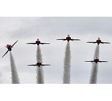 RAF Red Arrows Display Team Photographic Print
