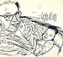 Leyla und ich by Rainer Jacob