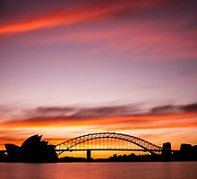 Sydney Icons Long Exposure by Ana Andres-Arroyo