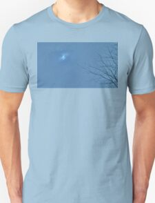 Eclipsed Tree - Blue Eclipse Version T-Shirt