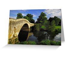 Bridge over River Ouse, Buckinghamshire Greeting Card