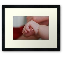 childs growth Framed Print