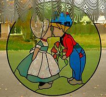 Dutch Kissing Tulip Couple by Jo Nijenhuis