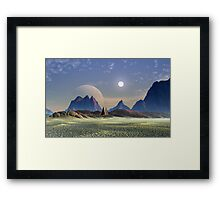 Death Valley Days Framed Print