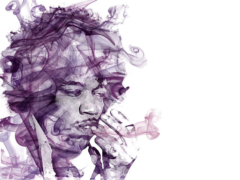 Jimi Hendrix. by amaniacadored