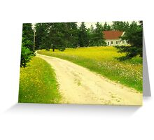 Wildflower Lane Greeting Card