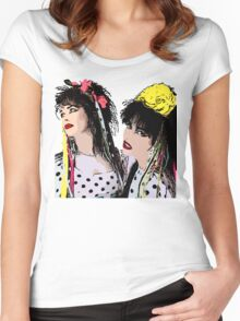 Strawberry Switchblade Women's Fitted Scoop T-Shirt