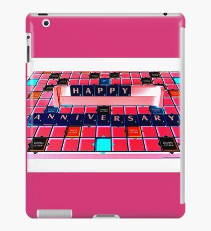 Happy Anniversary iPad Case/Skin