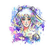 Moon Princess Photographic Print