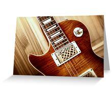 Guitar Icon : WTF : FFF Greeting Card