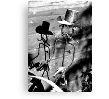 Sheriff Iron Canvas Print