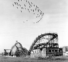 Thunderbolt roller coaster by kenpete