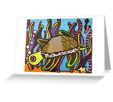 Under the Sea Turtle Greeting Card