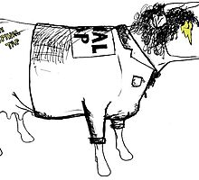 I Love Spinal Tap Cow by Jeemo