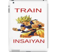 Train in saiyan iPad Case/Skin