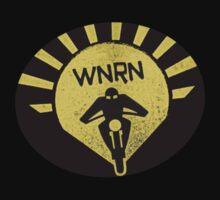 WnRn - Retro Gold Rising Sun by wrenchNrideN
