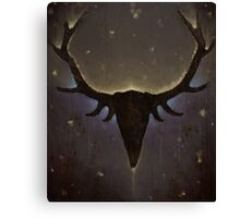 Sleeping Stag Canvas Print