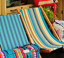 Deckchairs For Sale by Susie Peek