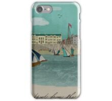 Blackpool from the Sea 1855. iPhone Case/Skin