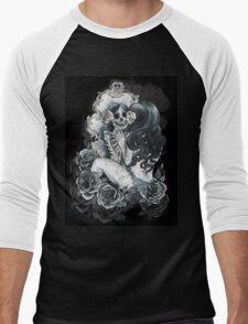 in her reflection Men's Baseball ¾ T-Shirt