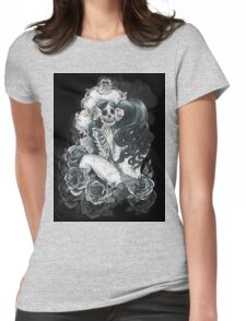 in her reflection Womens Fitted T-Shirt