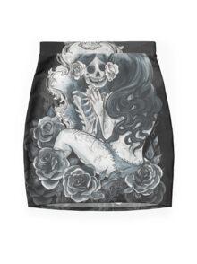 in her reflection Mini Skirt