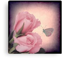 Of Roses and Thorns Canvas Print