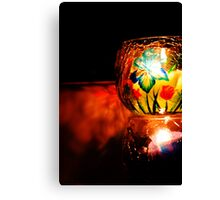 Candle 10 Canvas Print